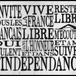 De Gaulle: l'appel en «typographie animée»